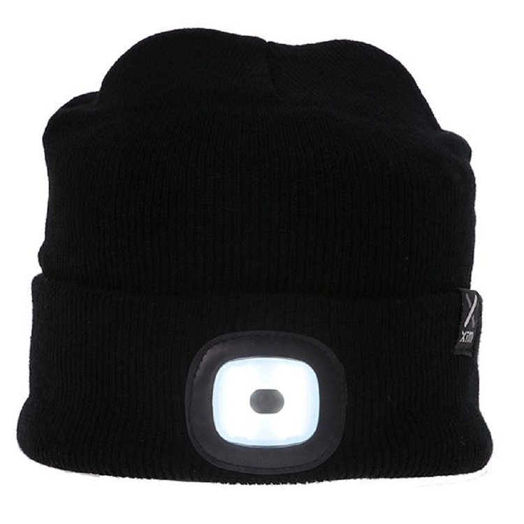 XTM Men's Blinder Beanie Black One Size Fits Most