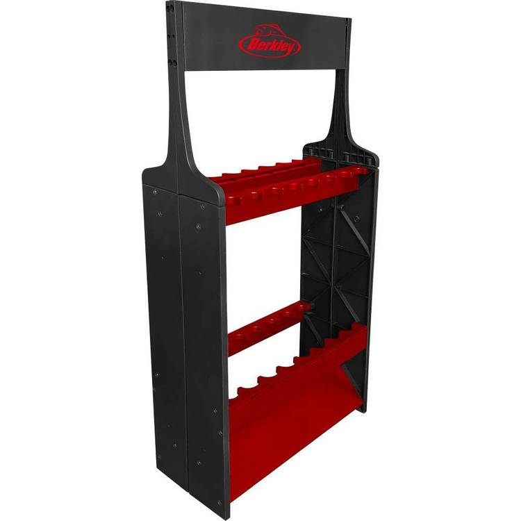 Berkley Rod Rack Black & Red