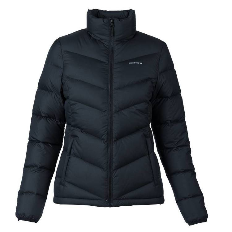 Cederberg Women's Mawson Goose Down Jacket Black
