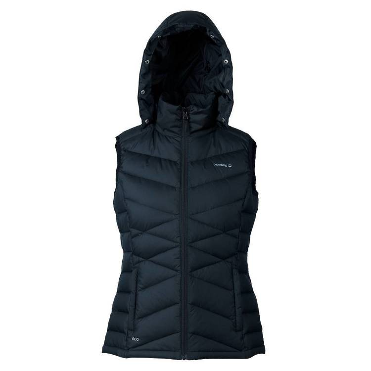 Cederberg Women's Lerato Duck Down Vest Black