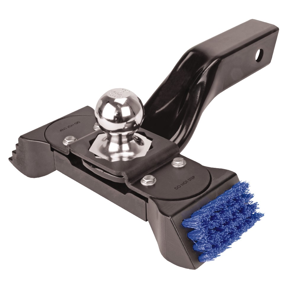 Pro Series Ball Mount Boot Brush Scraper