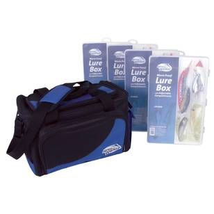 Jarvis Walker Lure Bag With 4 Large Lure Boxes