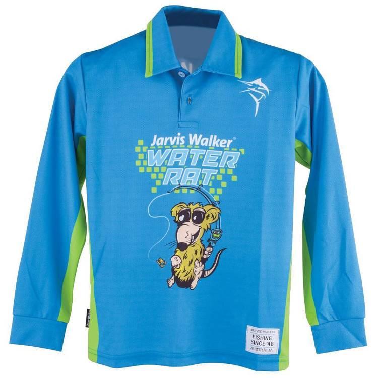 Jarvis Walker Kids' Water Rat Long Sleeve Polo Shirt