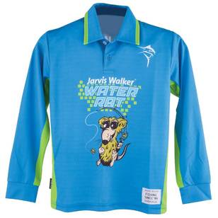 Jarvis Walker Kid's Water Rat Long Sleeve Polo Shirt