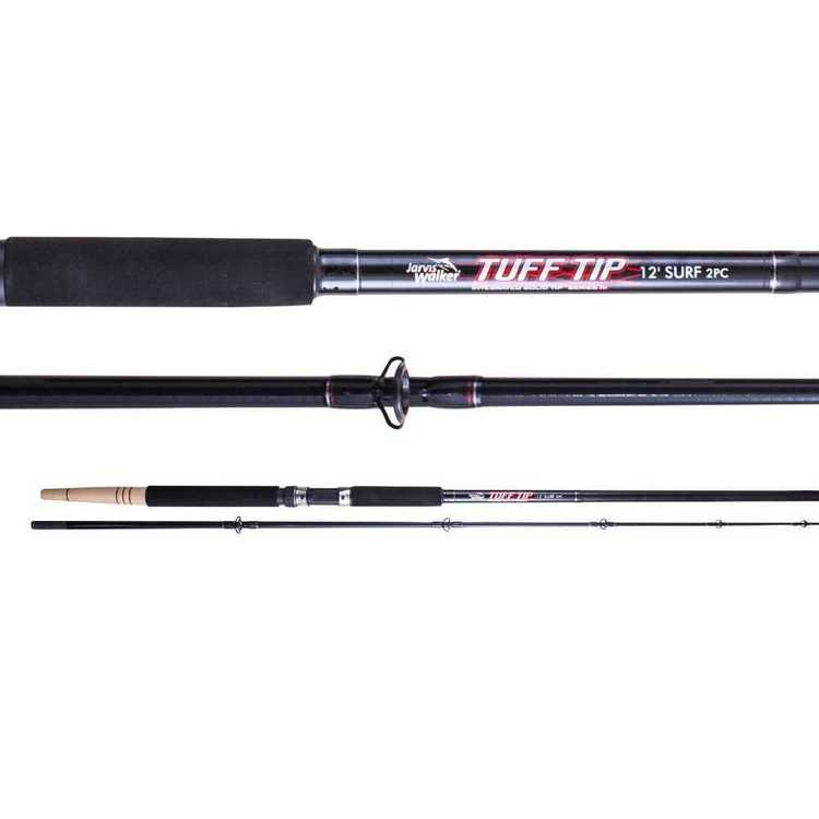 Jarvis Walker Tuff Tip 12' 6-10kg Surf Spinning Rod