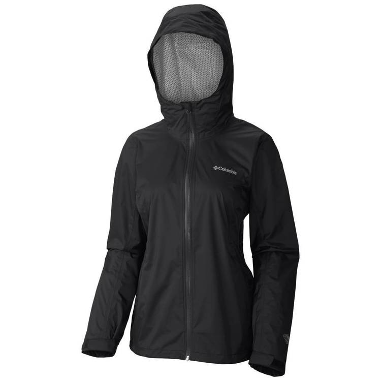 Columbia Women's Evapouration Jacket Black
