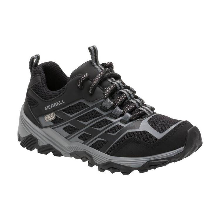 Merrell Kids' Moab Waterproof Low Hiking Shoes