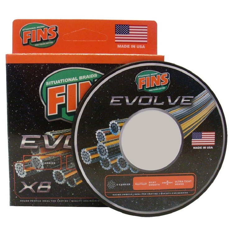 Fins Evolve 150 Yard Braid Line
