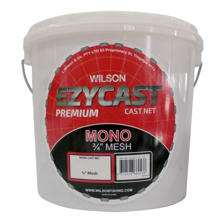 """Wilson EzyCast Mono 8' x 3/4"""" Cast Net"""