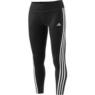 adidas Women's Designed 2 Move 3 Stripe Long Tights