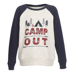 Cape Kid's Camp Out Crew Neck Fleece Top