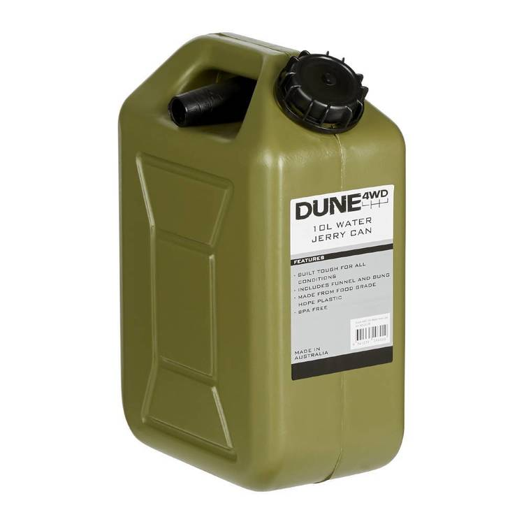 Dune 4WD 10L Water Jerry Can