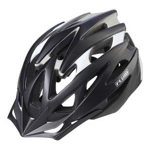 Fluid Adult's Rapid Stealth Black Bike Helmet