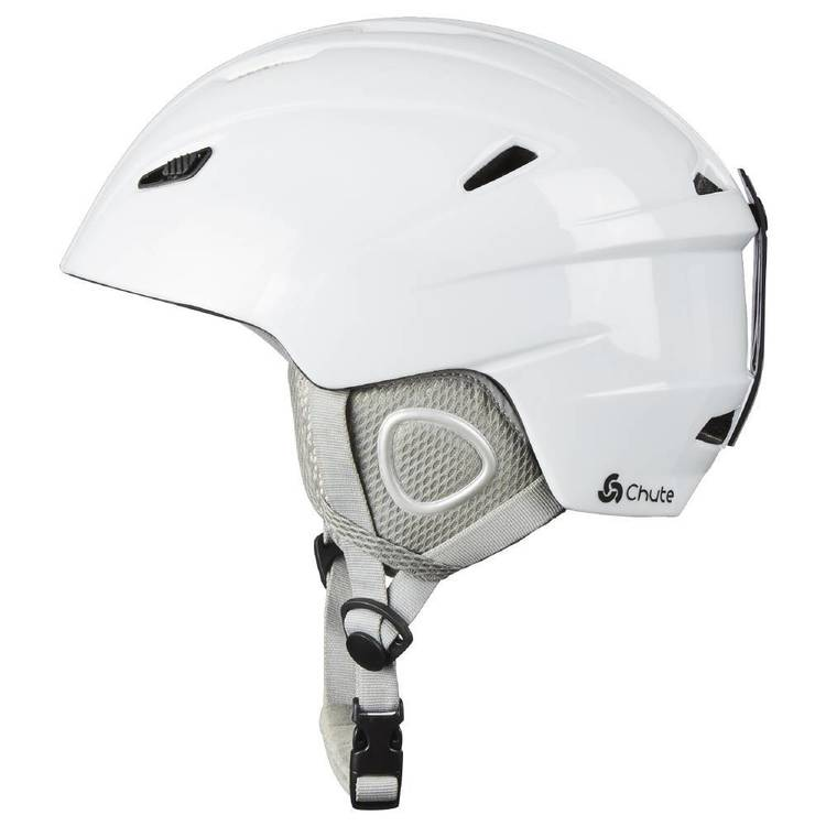 Chute Adults' Aspen Snow Helmet White