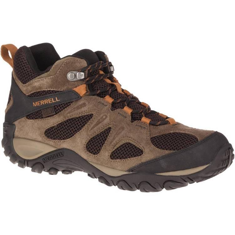 32f8e94a38d Merrell Men's Yokota 2 Mid Waterproof Hiking Shoes Bracken