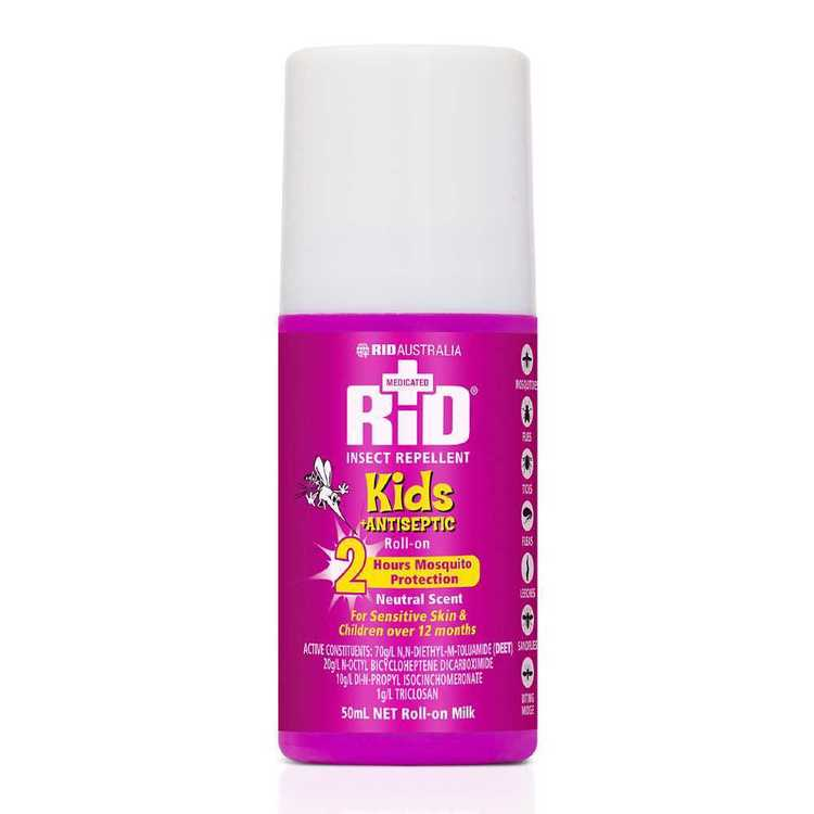 RID Insect Repellent Kids Roll On 50 mL