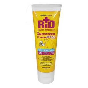 RID Sunscreen Insect Repellent Combo Tube 100 mL
