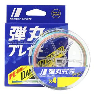 Majorcraft Dangan X4 150 Metre Braid Line