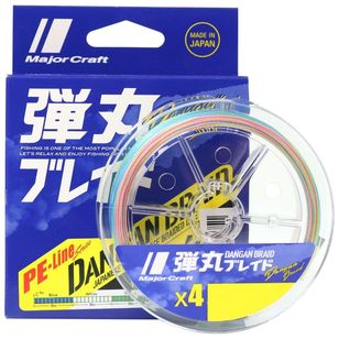 Majorcraft Dangan X4 300 Metre Braid Line