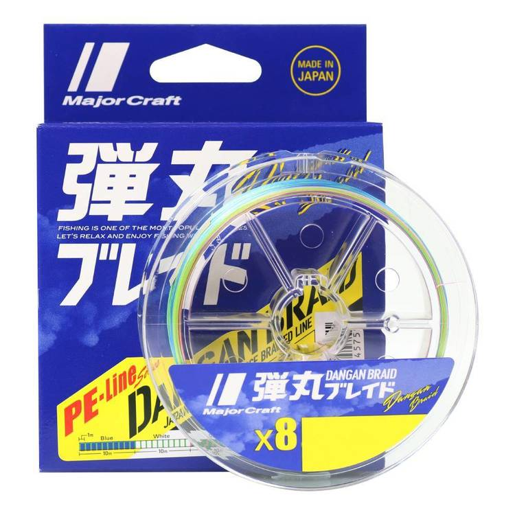 Majorcraft Dangan X8 150 Metre Braid Line