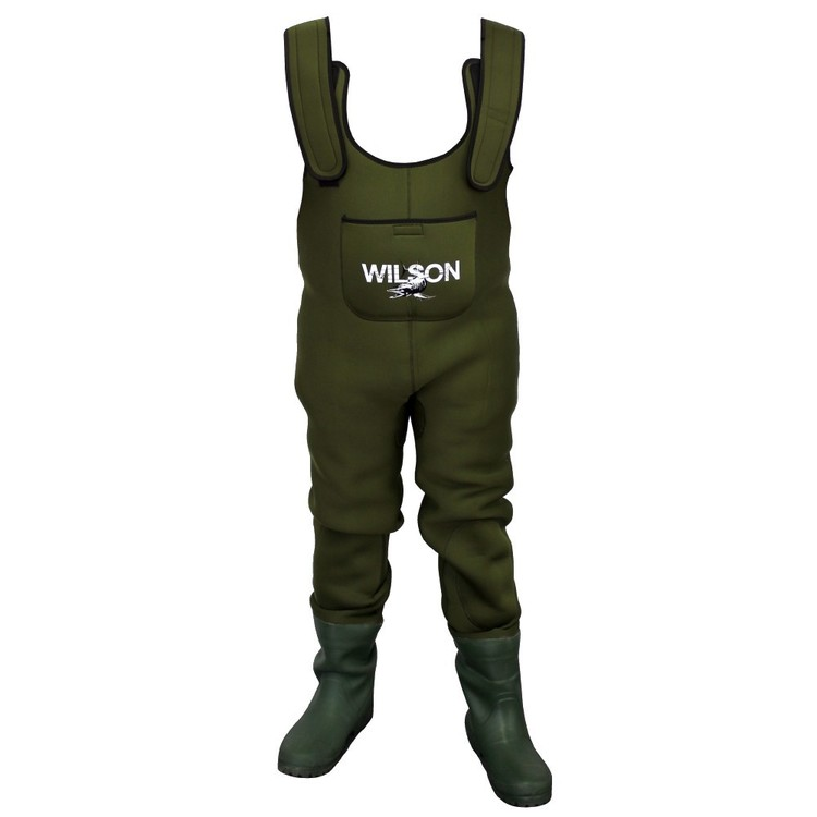 Wilson Neoprene Chest Waders Green
