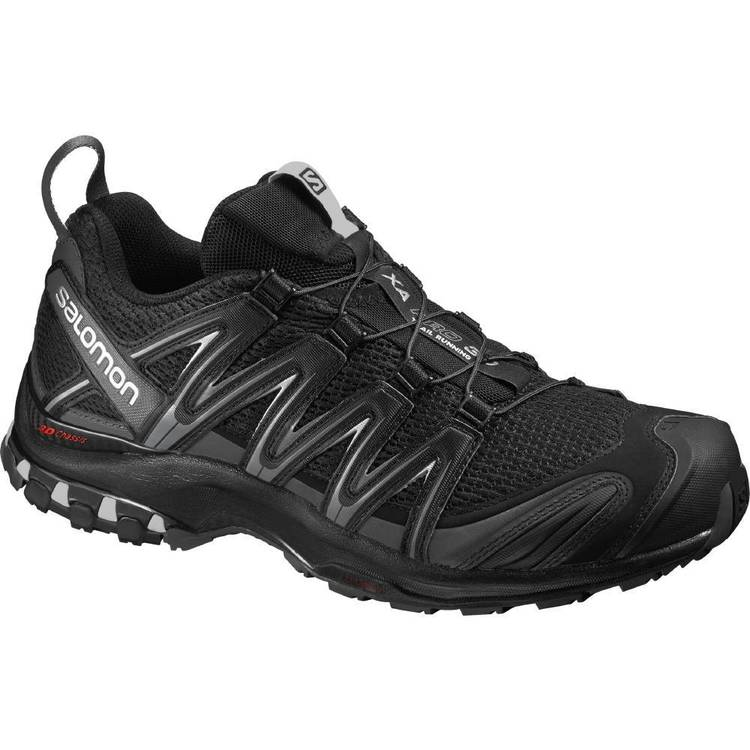 Salomon Men's XA Pro 3D Shoes Black, Magnet and Tiquet Shade