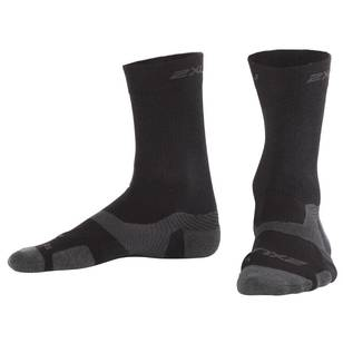 2 XU Unisex Vec Merino Light Crew Socks