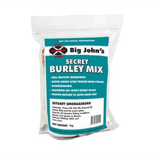 Big John's Estuary Secret Burley Mix 1kg