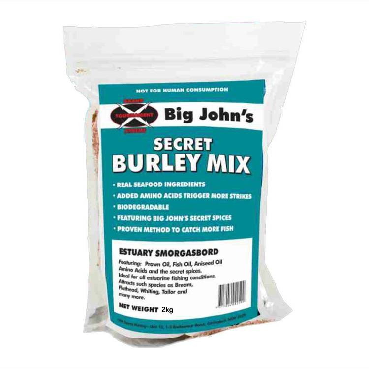 Big John's Estuary Secret Burley Mix 2kg