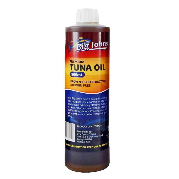 Big John's Tuna Oil 500 mL
