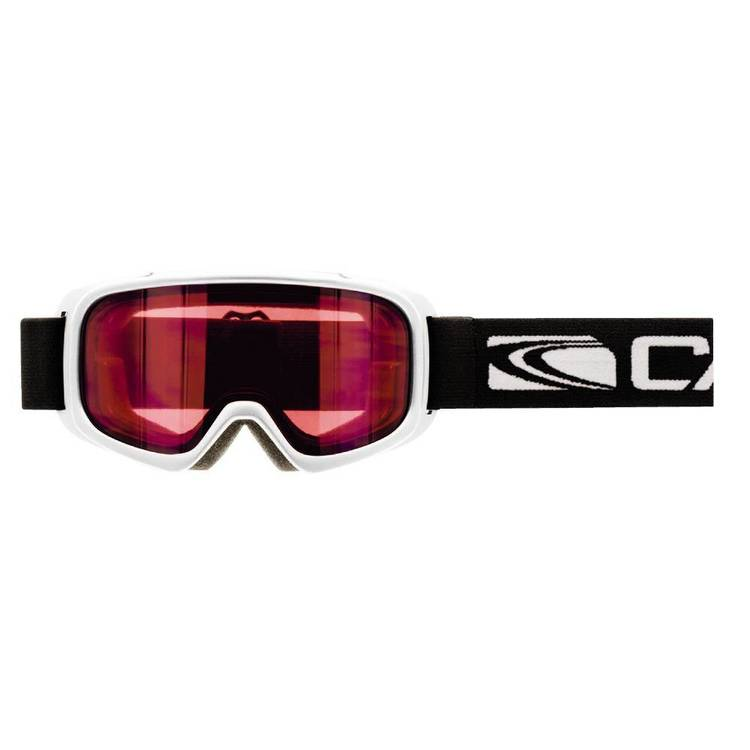 Carve Aspire Kid's Goggles White & Pink One Size Fits Most