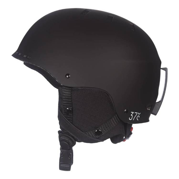 37 Degrees South Adults' Snow Helmet Black