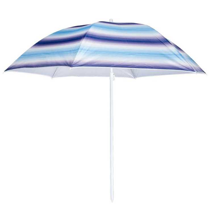 Life 1.8 m Beach Umbrella Stripe