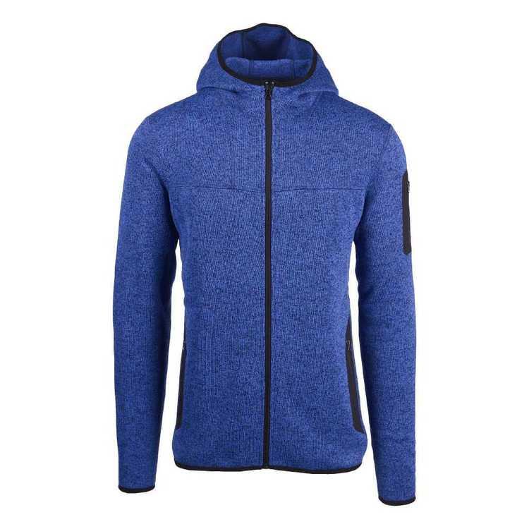 Cederberg Men's Mistral Hooded Zipped Fleece Jacket