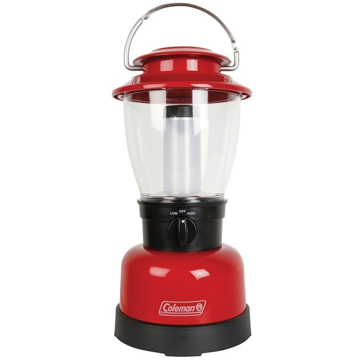 Coleman Classic 4 D Lantern Red