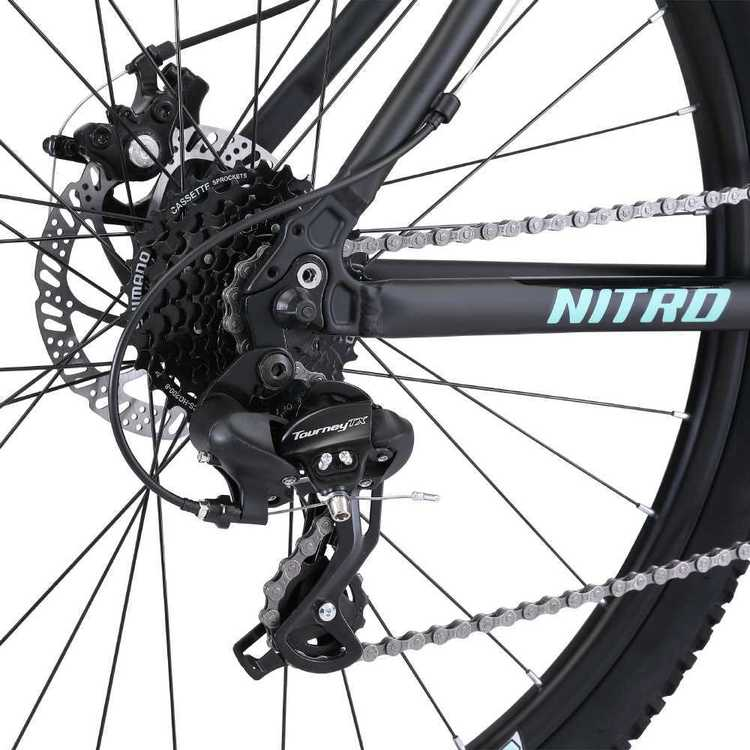 Fluid Nitro Women's Mountain Bike Black
