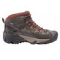 Keen Men's Targhee II Waterproof Mid Hiking Shoes Raven Tortoise Shell