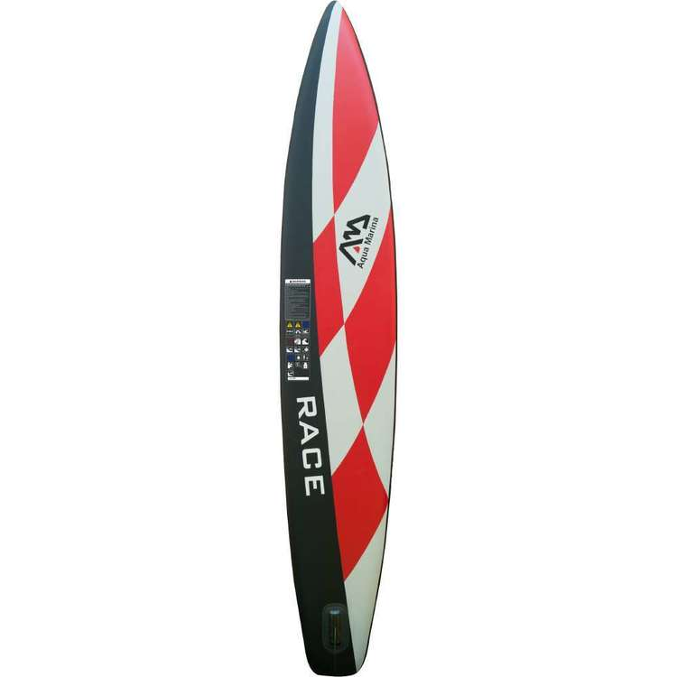Aqua Marina Race Inflatable Stand Up Paddle Board Multicoloured 14 ft