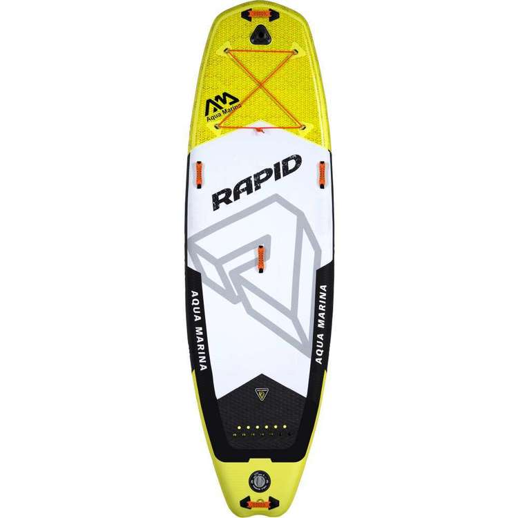 Aqua Marina Rapid Inflatable Stand Up Paddle Board Multicoloured 9 ft 6 in