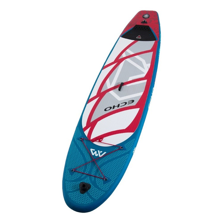 Aqua Marina Echo Inflatable Stand Up Paddle Board Multicoloured 10 ft 6 in