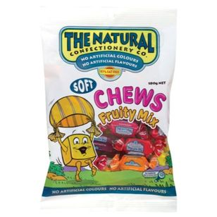The Natural Confectionary Co. Fruit Chews 180 g Pack