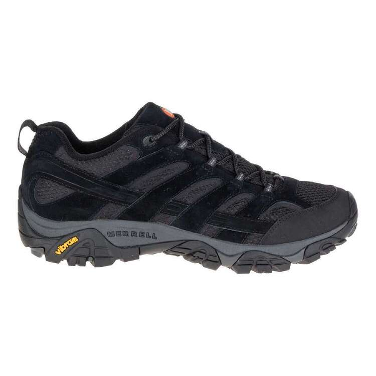 Merrell Men's Moab 2 Vented Low Hiking Shoes Black