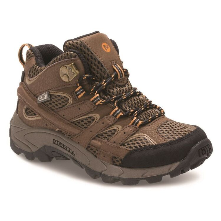 Merrell Kids' Moab 2 Waterproof Mid Hiking Boots