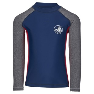 Body Glove Kid's Spliced Long Sleeve Rash Vest