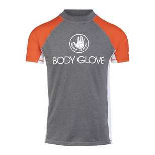 Body Glove Men's Short Sleeve Spliced Rash Vest