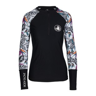 Body Glove Women's Paradise Long Sleeve Rash Vest