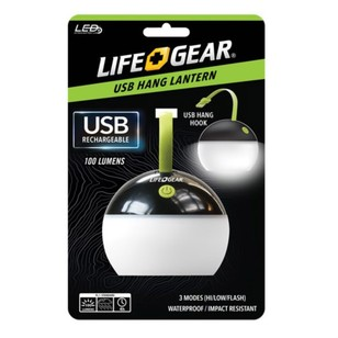 Life+Gear USB Rechargeable Hang Lantern