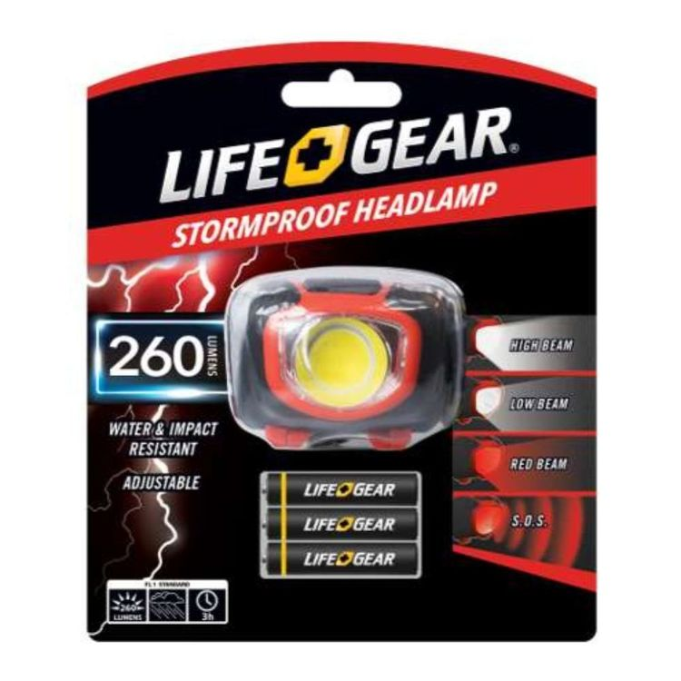 Life+Gear Stormproof Headlamp