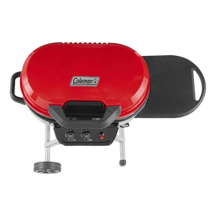 Coleman Roadtrip 225 Stand-Up 2 Burner Grill Red