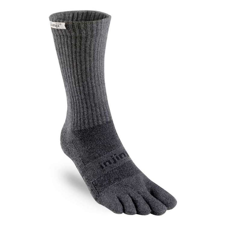 Injinji Adults' Universal Trail Crew Toe Socks